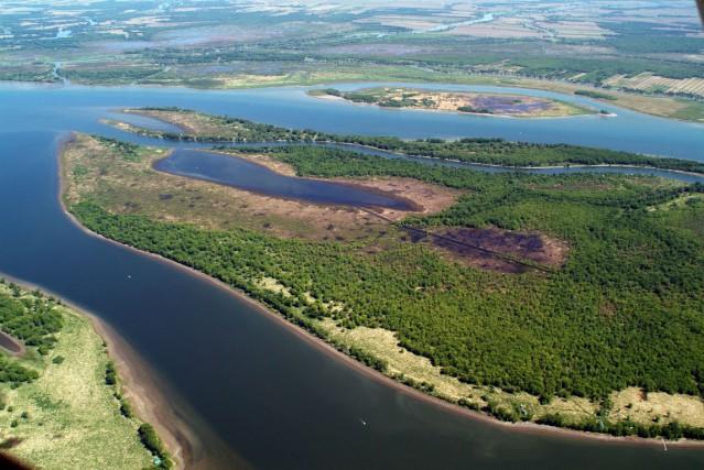 L'île de Grâce.... (Photo fournie par Conservation de la Nature Canada)