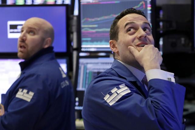 L'indice qui mesure la volatilité à Wall Street,... (PHOTO ARCHIVES AP)