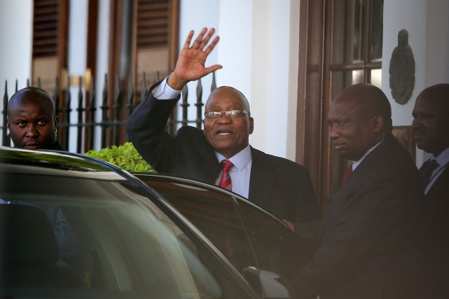 Jacob Zuma.... (Photo Sumaya Hisham, REUTERS)