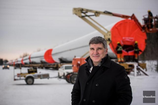 Vincent Trudel est vice-président exécutif, chef des opérations... (Photo François Gervais, Le Nouvelliste)