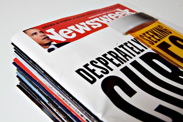 Le prestigieux magazine américain Newsweek est en pleine crise et... (Photo archives Bloomberg)