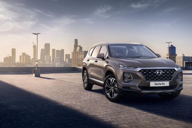 Le Hyundai Santa Fe 2019... (PHOTO FOURNIE PAR LE CONSTRUCTEUR)