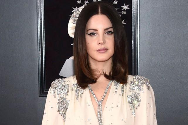 Lana Del Rey aux Grammy Awards le 28... (Photo archives AP)