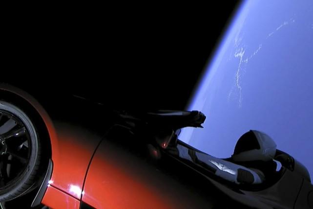 Cette image tirée d'une vidéo diffusée par SpaceX... (photo : spaceX via AP)