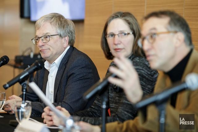 Lancement du projet «Le climat, l'État et nous»,... (Photo Alain Roberge, La Presse)