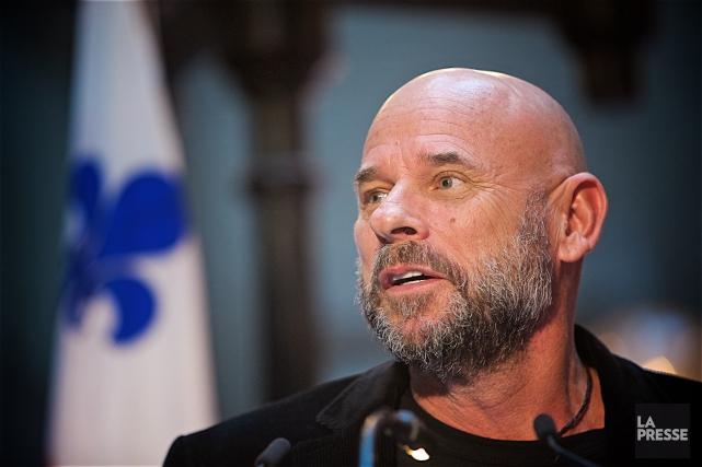 Guy Laliberté a donné le coup d'envoi mardi... (Photo André Pichette, archives La Presse)