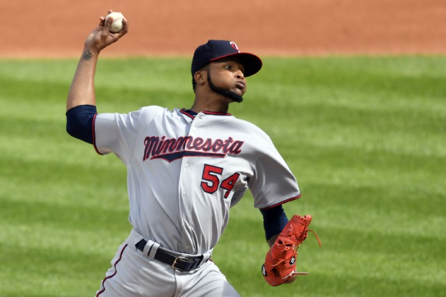 Ervin Santana a besoin de 10 à 12... (Photo David Richard, USA TODAY Sports)