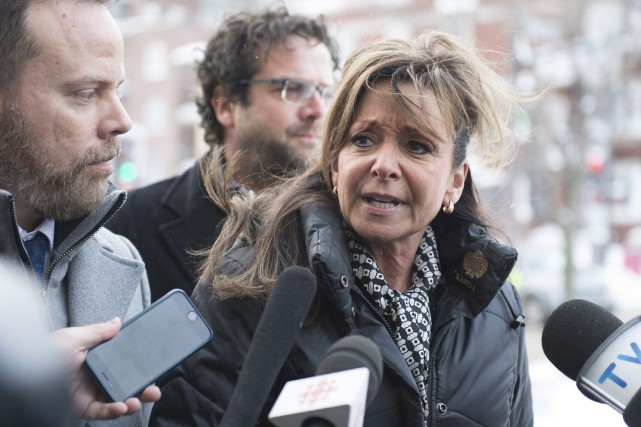 La présidente de la FIQ, Nancy Bédard, à... (Photo Jacques Boissinot, La Presse canadienne)
