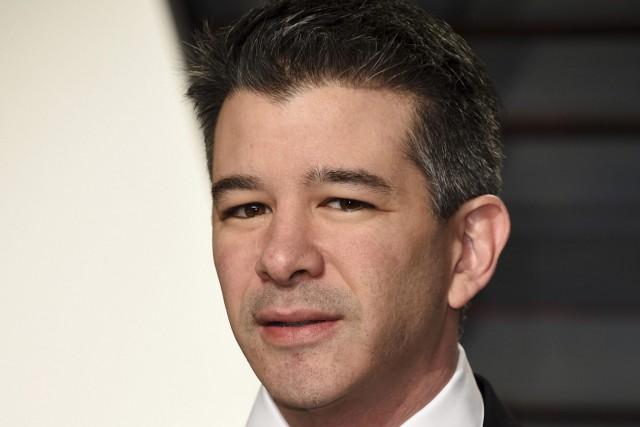 L'ancien patron d'Uber, Travis Kalanick... (PHOTO ARCHIVES Invision/AP)