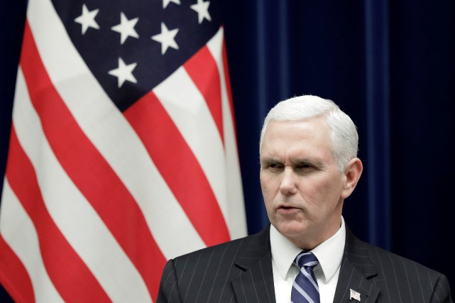 «J'annonce aujourd'hui que les États-Unis vont bientôt dévoiler... (REUTERS)