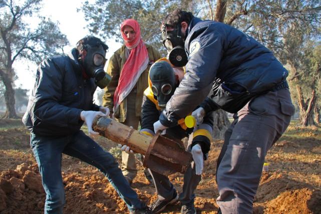 Ces dernières semaines, le régime de Bachar al-Assad... (AFP)