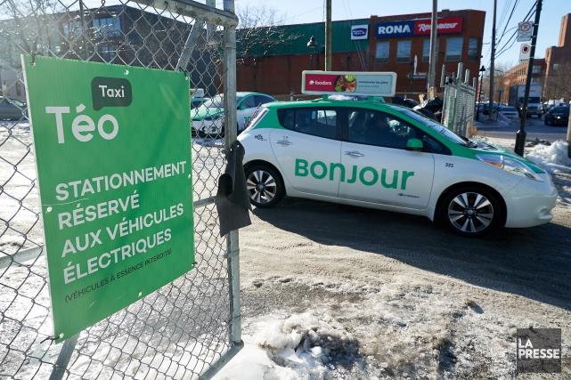 «Cet investissement important permettra à Téo Taxi d'offrir... (Photo André Pichette, La Presse)