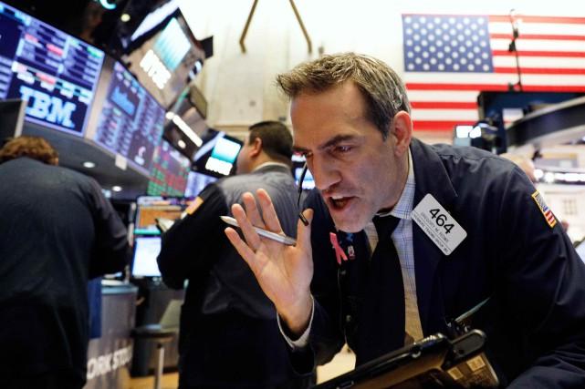 Le marché est «en train de chercher jusqu'où... (PHOTO ARCHIVES REUTERS)