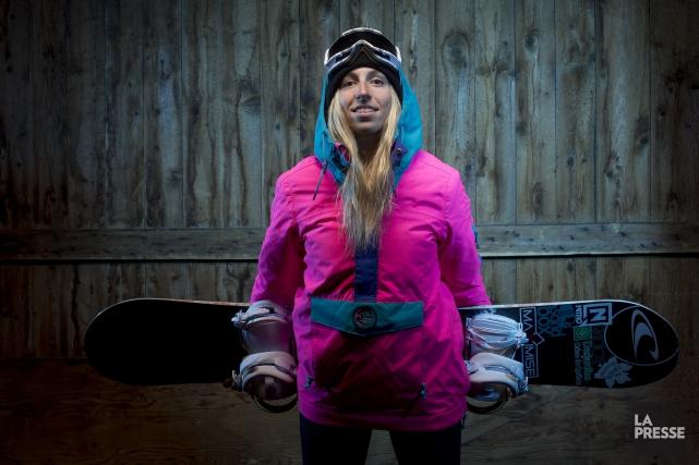 Laurie Blouin a été deux fois médaillée d'argent... (Photo Marco Campanozzi, La Presse)
