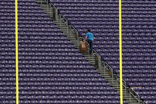 LeU.S. Bank Stadium... (Photo Kevin Lamarque, Reuters)