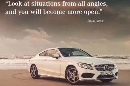Mercedes-Benz a froissé les susceptibilités du gourvernement chinois... (Photo : Mercedes-Benz)