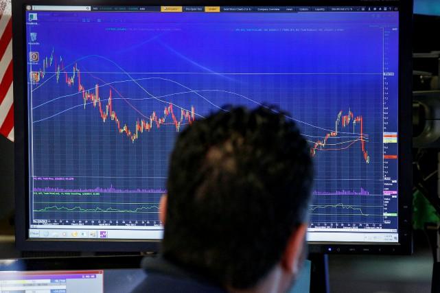 «Quand les marchés d'actions ont commencé à corriger... (REUTERS)