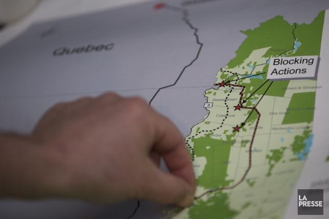Hydro-Québec misait sur cette ligne de transport pour... (PHOTO ARCHIVES LA PRESSE)