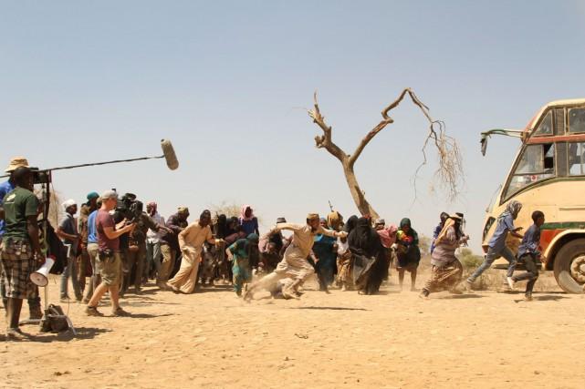Sur le tournage du film Watu Wote à... (Photo archives AP)