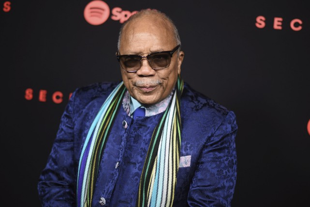 Quincy Jones... (Photo Richard Shotwell archives Invision/AP)