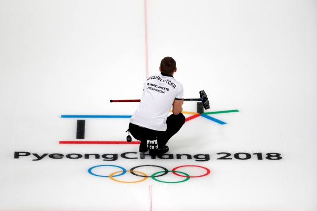 Le Centre de curling de Gangneung accueille les... (Photo Cathal McNaughton, Reuters)