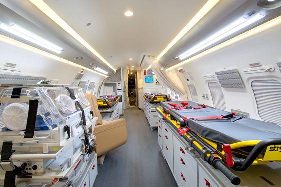 La pratique d'Évacuation aéromédicale du Québec, qui refuse... (photo tirée du site web du gouvernement du Québec)