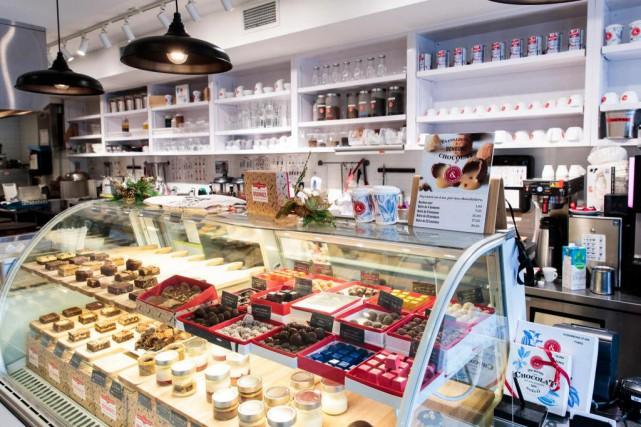 Quinze ans après l'ouverture de leur première crêperie-boutique,... (PHOTO HUGO-SÉBASTIEN AUBERT, LA PRESSE)