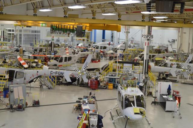 Bell Helicopter a évalué à 234 millions de... (PHOTO FOURNIE PAR BELL HELICOPTER)