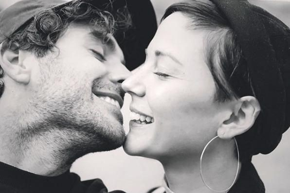 Alex Nevsky et Vanessa Pilon attendent leur premier... (photo tirée du compte instagram de vanessa pilon)