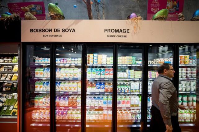 Parvenir à vendre ses produits dans un supermarché... (Photo Marco Campanozzi, archives La Presse)