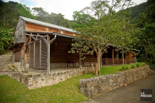 Ancien monastère, le domaine de l'Habitation de la... (Photo David Boily, La Presse)