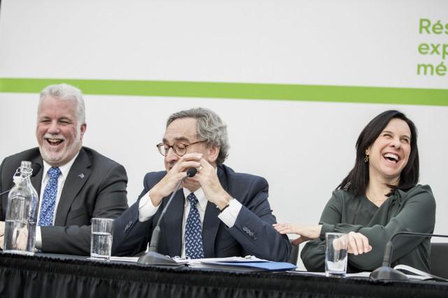 Conférence de presse jeudi matin avec le PDG... (La Presse Marco Campanozzi)