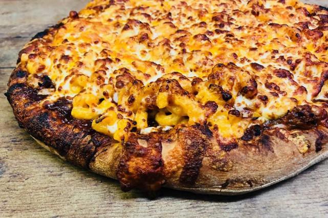 La pizza Mac&Cheese de la Pizzeria Pépé, à... (photo fournie parla Journée nationale de la pizza)