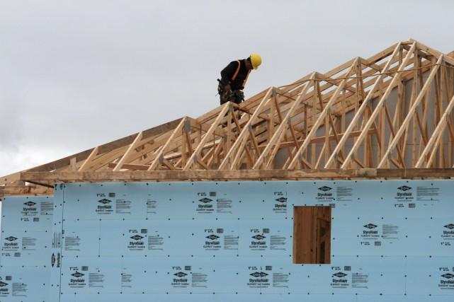 «Les constructeurs d'habitations n'ont pas semblé souffrir de... (PHOTO ARCHIVES LA PRESSE CANADIENNE)