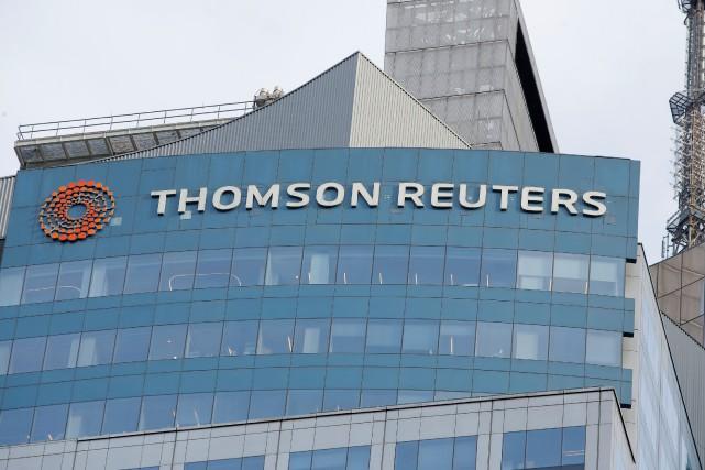 Les revenus de Thomson Reuters ont totalisé 2,94... (PHOTO Andrew Kelly, REUTERS)