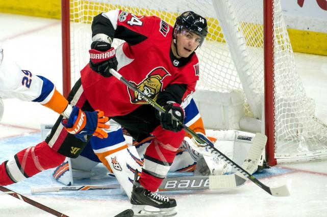 L'attaquant des Sénateurs d'Ottawa Alexandre Burrows a été... (Photo Marc DesRosiers, archives USA TODAY Sports)