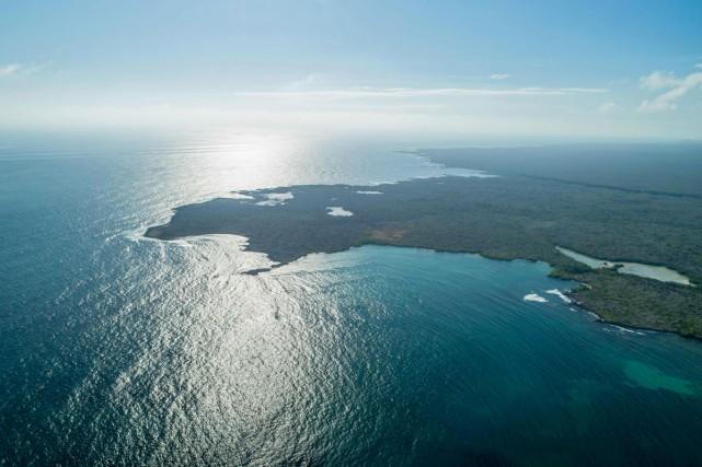 L'île de Santa Cruz dans l'archipel des Galapagos.... (Photo AFP)