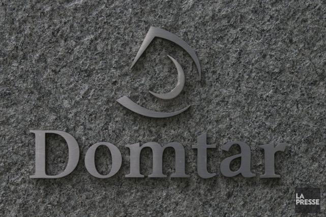 Domtar, dont le siège social est établi à... (PHOTO HUGO-SÉBASTIEN AUBERT, LA PRESSE)