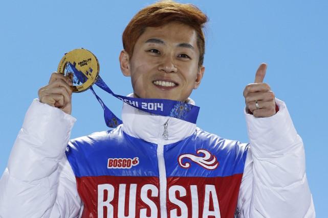 Viktor Ahn... (AP)