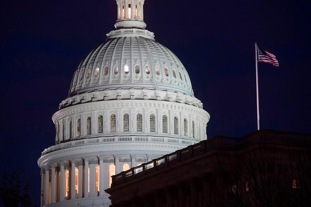 Le Capitole à Washington... (PHOTO SAUL LOEB, ARCHIVES AGENCE FRANCE-PRESSE)