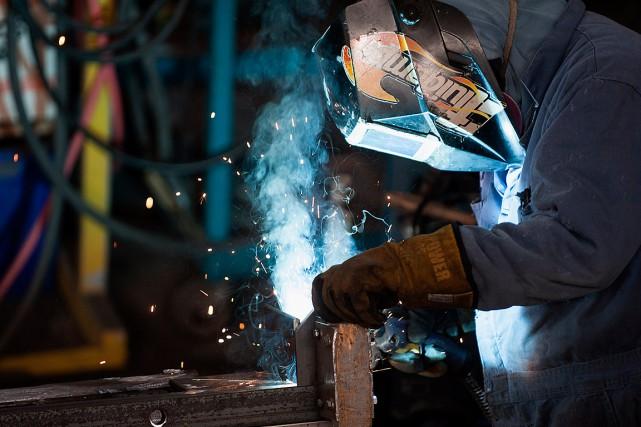 Les baisses d'emploi les plus prononcées ont été... (PHOTO ABIGAIL SAXTON, ARCHIVES BLOOMBERG)