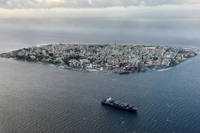 Les Maldives sont un des plus petits États... (Photo  Roberto SCHMIDT, AFP)