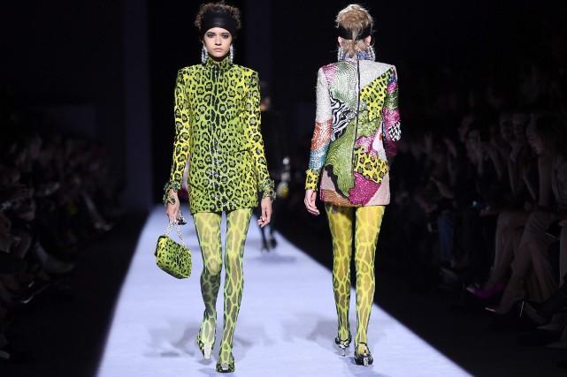 d7bb40bd346a95 Semaine de la mode  Tom Ford donne sa vision de la femme forte   Mode