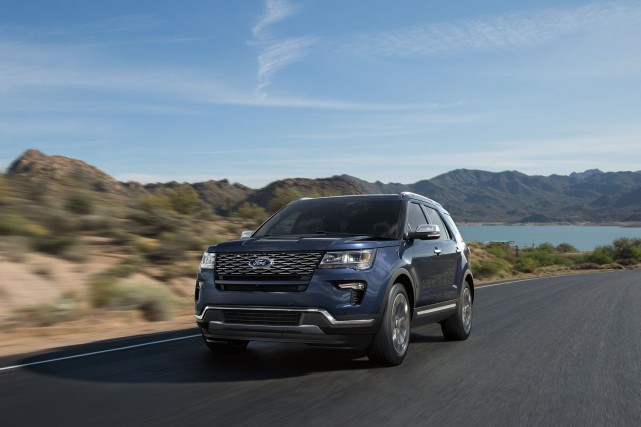 Ford Explorer 2018... (Photo : Ford)