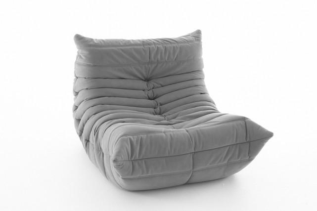 Le fauteuil Togo, par Michel Ducaroy.... (Photo fournie par Roset)