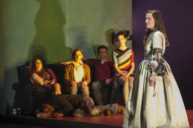 La pièce Hurlevents de Fanny Britt est librement... (Photo Gunther Gamper, fournie par le Théâtre Denise-Pelletier)