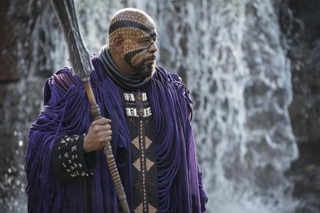 Forest Whitaker dans Black Panther... (Photo fournie parMarvel Studios)