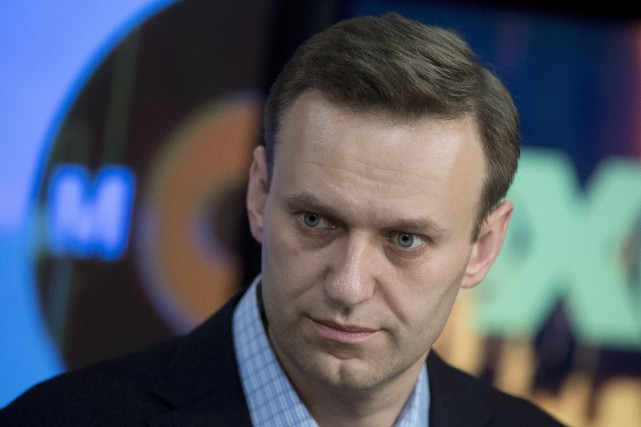 L'opposant russe Alexeï Navalny... (PHOTO ARCHIVES AP)