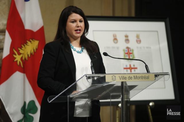 La nouvelle commissaire des relations avec les peuples... (Photo Martin Chamberland, La Presse)