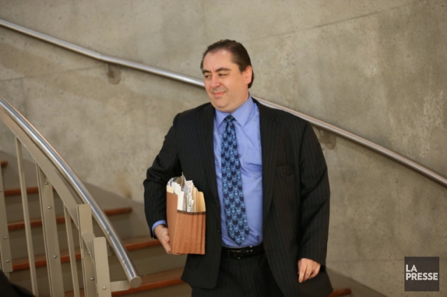 L'ex-avocat Dimitrios Strapatsas.... (Photo PATRICK SANFACON LA PRESSE)